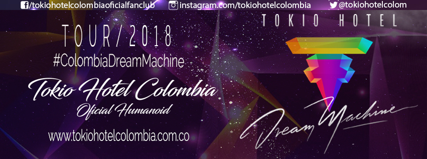 tokio hotel colombia oficial fan club