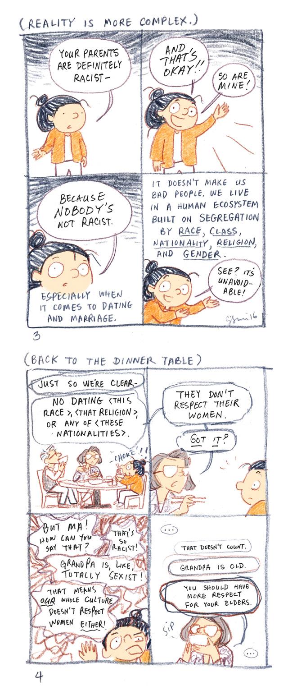 Asian parents dating comic