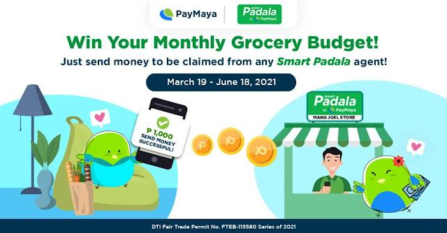 PayMaya Smart Padala Grocery Budget Promo