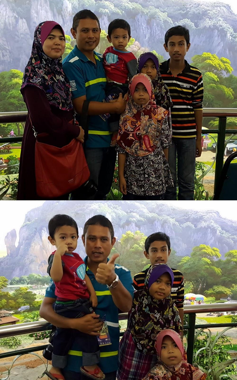 Bergambar di Gunung Keriang