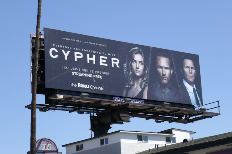 Cypher series premiere billboard