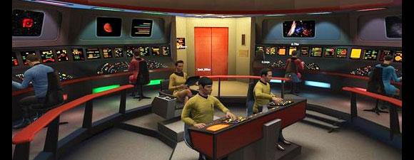 Il ponte di comando della USS Enterprise NCC-1701 originale ricreato per la realtà virtuale del videogame Star Trek Bridge Crew- TG TREK: Notizie, Novità, News da Star Trek