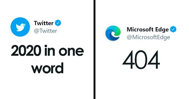 """30 Of The Best Company Replies To Twitter's """"Describe 2020 In One Word"""" Challenge"""