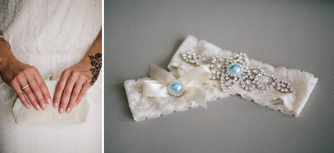 beautiful bridal details vintage purse and embellished garter set photos by STUDIO 1208