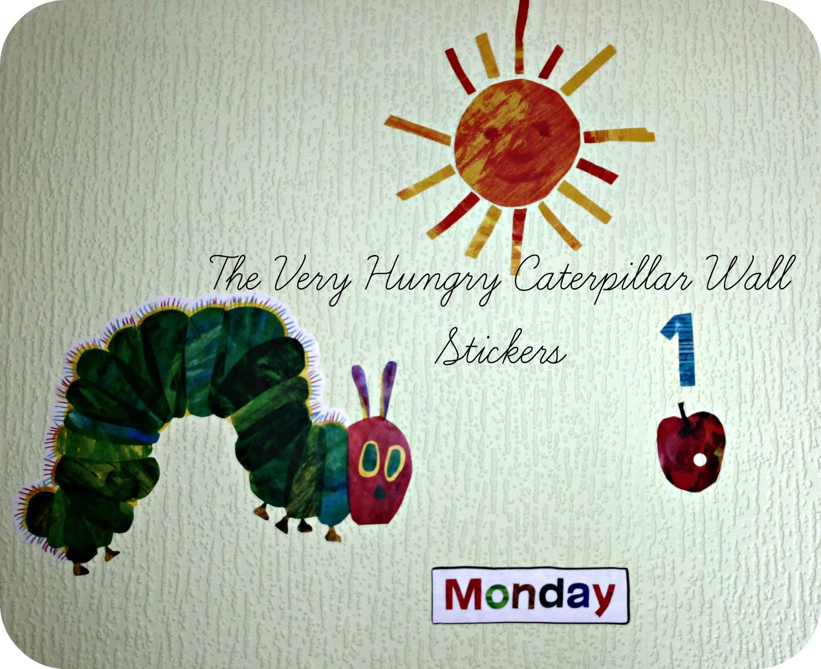 Very Hungry Caterpillar Wall Stickers Life Unexpected The Very Hungry Caterpillar Wall Stickers