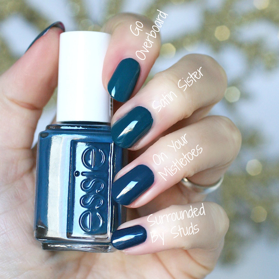 Essie On Your Mistletoes, Free Shipping at Nail Polish Canada