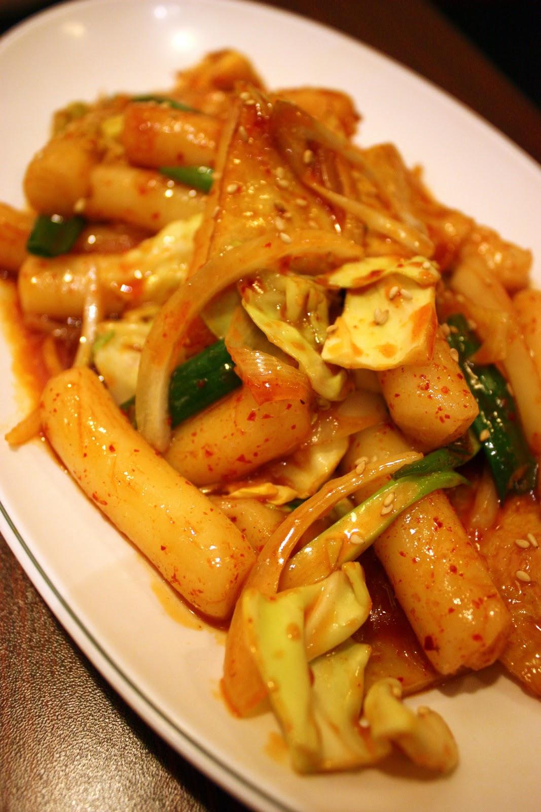 Rice Cake Kimchi