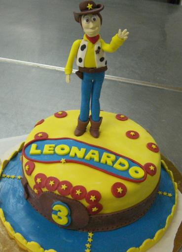 Michela Barocci Sugar Artist: Torta Toy Story per Leonardo