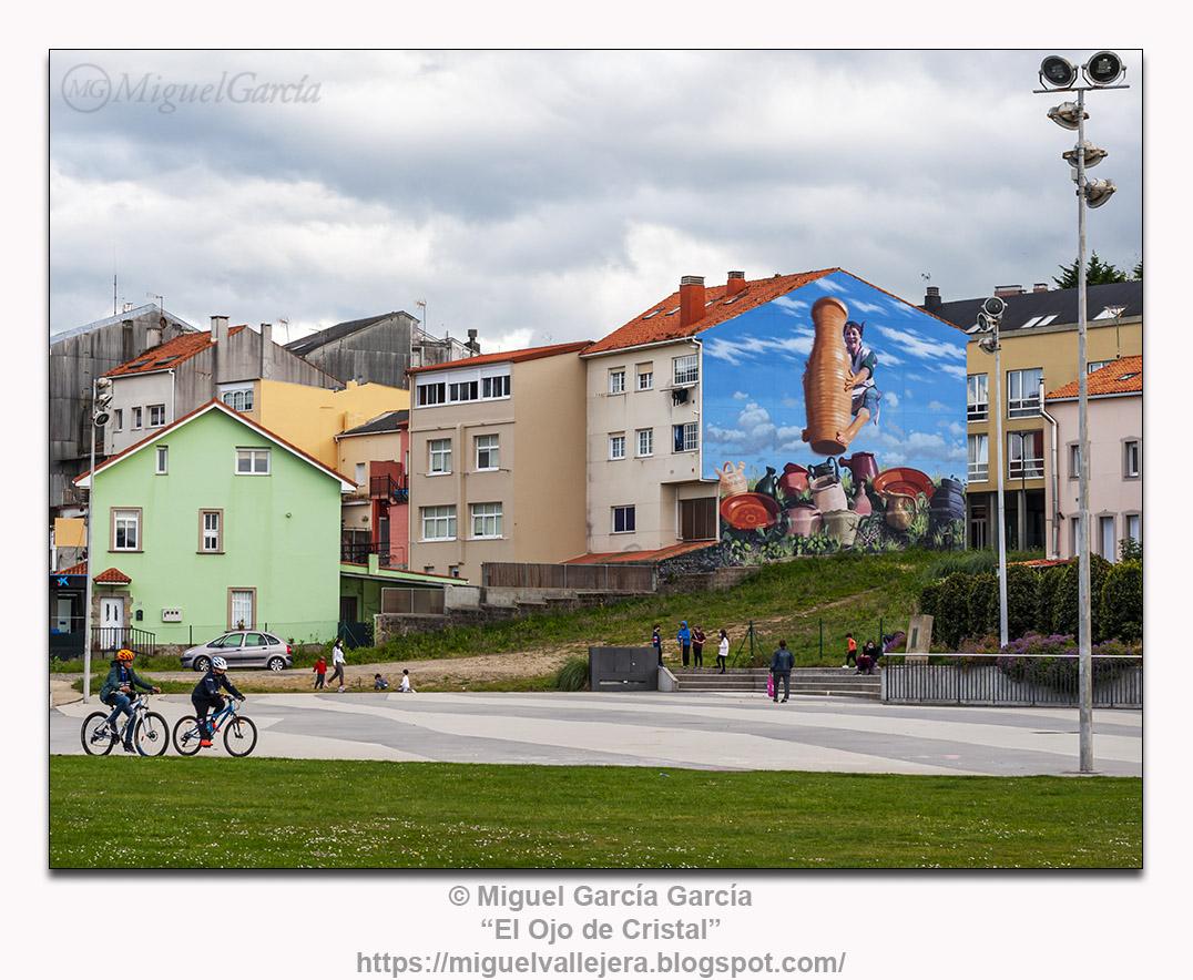 O Porto de Santa Cruz, Oleiros (A Coruña)