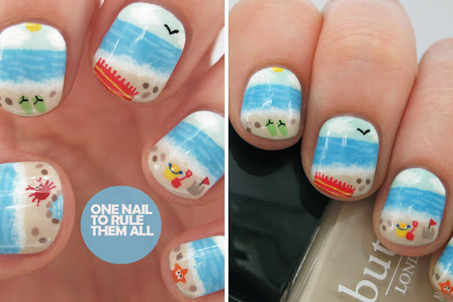At this time we are going to share 10 nails art designs for you people