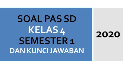 Soal UAS/PAS Kelas 4 Semester 1 Kurikulum 2013 Revisi 2020 + Kunci Jawaban