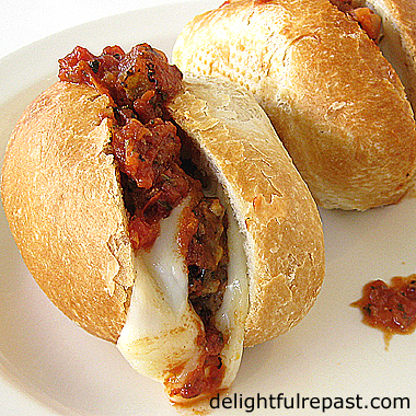 Italian Meatball Sandwiches - Make a double batch and freeze half / www.delightfulrepast.com