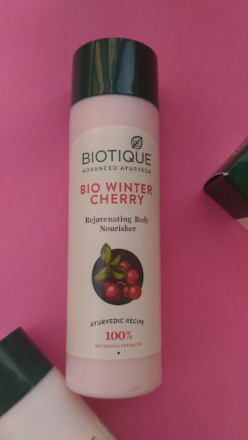 Bio Winter Cherry Body Nourisher Review