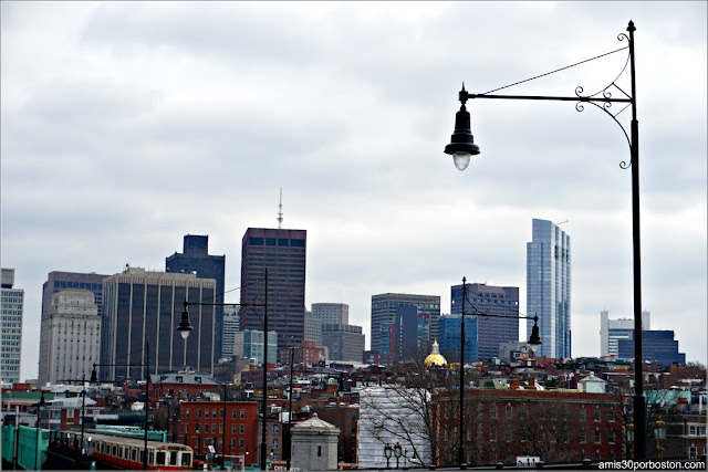 Boston desde el Longfellow Bridge