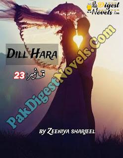 Dil Hara Episode 23 By Zeenia Sherjeel