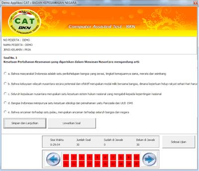 Soal SKD CPNS 2019 - Download Simulasi CAT CPNS 2019 Semua Instansi Daerah