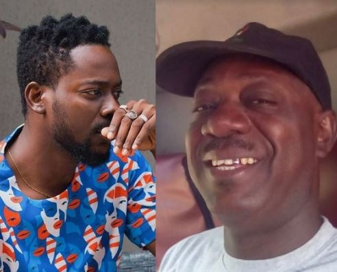 """""""Sadly, I was not done making him proud"""" - Adekunle Gold pens emotional tribute to late dad"""