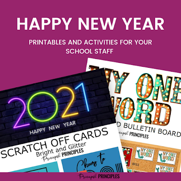 Happy New Year Printables for Your Staff and Coworkers