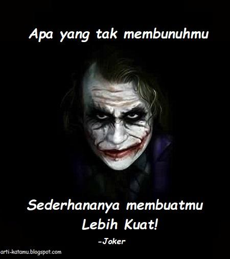 Quotes Joker Bahasa Indonesia