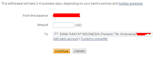Cara Withdraw Paypal ke Bank Lokal Indonesia