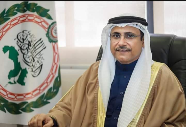 *رئيس البرلمان العربي يُهنيء   المستشار  حنفي جبالي لانتخابة رئيساً لمجلس النواب المصري*