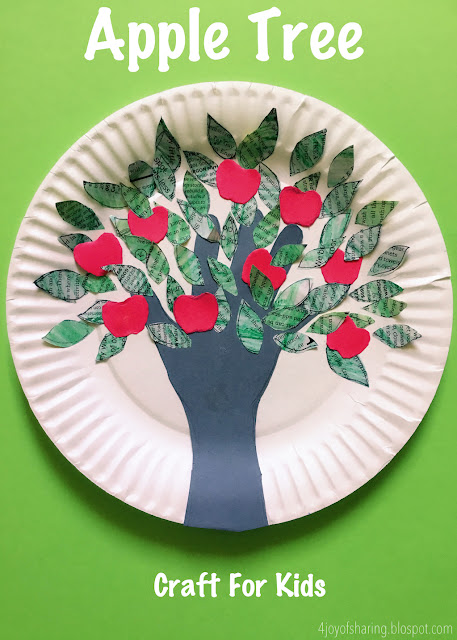 Kids Craft, Craft for kids, toddler craft, easy craft, tree craft, newspaper craft, magazine craft, handprints craft, preschool craft, kids activity, fun activity, school craft, school project, paper plate craft, recycled craft,