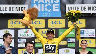 CICLISMO EN RUTA - Sergio Henao venció por 4 segundos la París-Niza, con espectacular remontada de Contador