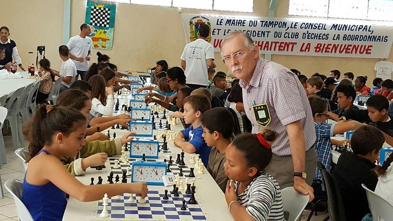 Jean Marie Barré sur la liste de Philippe Dornbusch pour l'élection FFE 2016 - Photo © Chess & Strategy