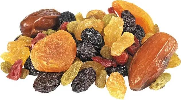 buah kering memiliki kalori lebih tinggi dibanding buah segar