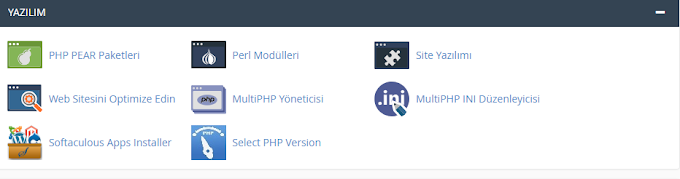 Cpanel'de PHP Versiyon Değiştirme