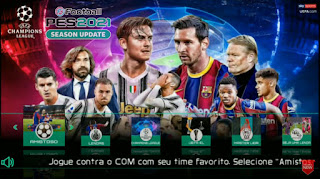 Download PES 2021 PPSSPP Android Offline TM ARTS English Version Best Graphics New Menu Faces Kits & Latest Transfer Update