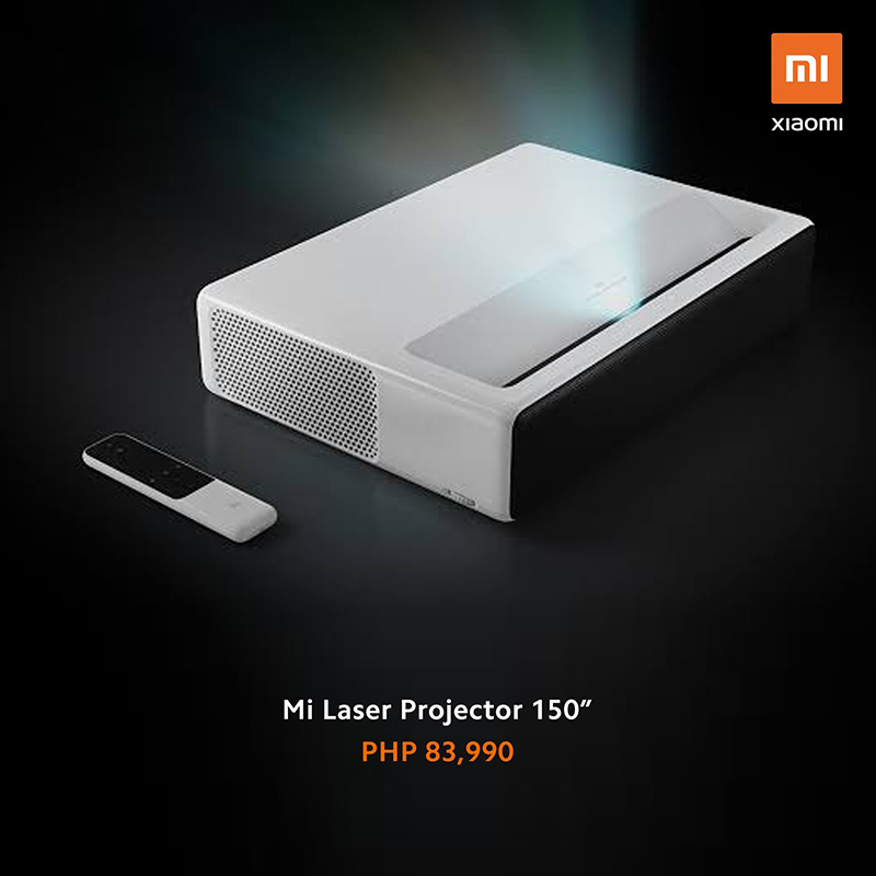 """Xiaomi releases Mi Laster Projector 150"""" for PHP 83,990!"""