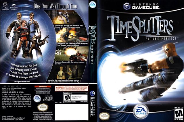 Descargar TimeSplitters - Future perfect (TimeSplitters NTSC-PAL ps2 iso: Futuro perfecto) es la tercera y última entrega de la saga TimeSplitters. Este que fue desarrollado por Free Radical y publicado por EA Games. Este videojuego, que opta por la acción en primera persona, vuelve a innovar como hizo su antecesor, TimeSplitters 2. Esta vez fue EA Games quién se ocupó de la distribución (conocidos por la saga Medal of Honor y la de 007) y, como hizo la anterior entrega, mejoró en muchos más aspectos que TimeSplitters 2 respecto a TimeSplitters: