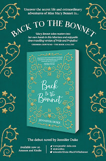 Book promo picture: Back to the Bonnet by Jennifer Duke