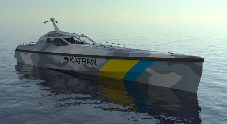 Швидкісний патрульний катер Катран U53