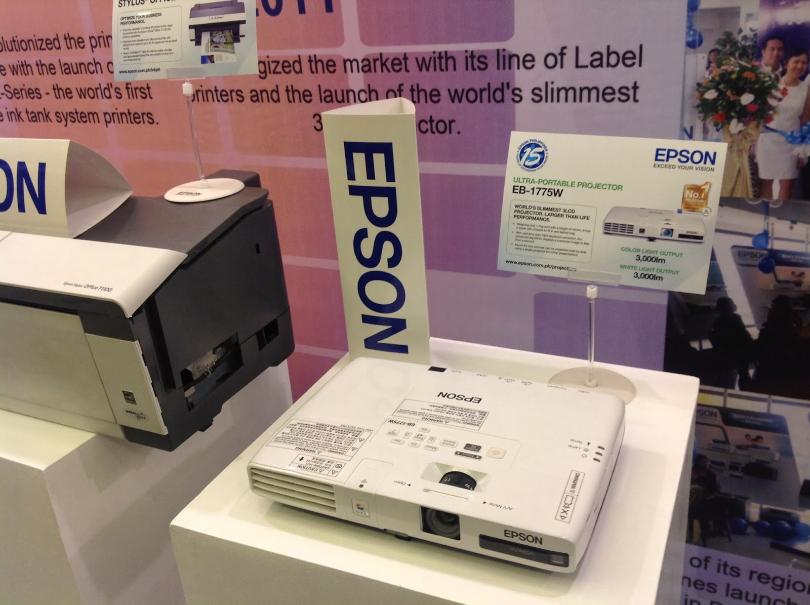 Epson Philippines: Celebrating 15 Years of Exceeding Your Vision