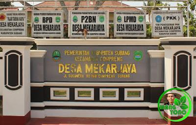 Kantor Desa Mekarjaya Jl. Sukawera No. 168 Compreng, Subang