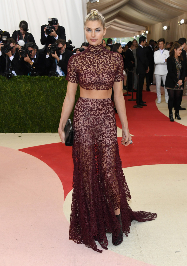 Jessica Hart at the 2016 MET Gala