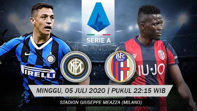Prediksi Inter Milan Vs Bologna, Minggu 05 Juli 2020 Pukul 22.15 WIB