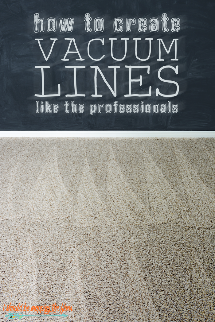 How to Create Vacuum Lines Like the Professionals | Simple-to-follow tutorial to create the classic carpet pattern with your vacuum (just like mom used to!).