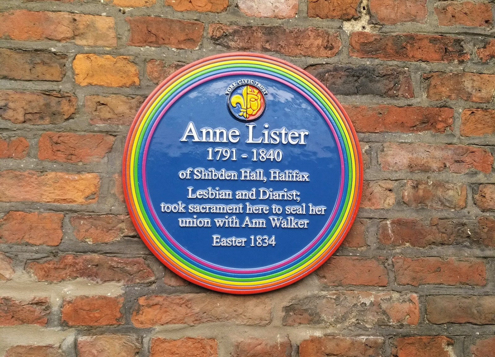 John's Labour blog: Anne Lister: Lesbian and Diarist