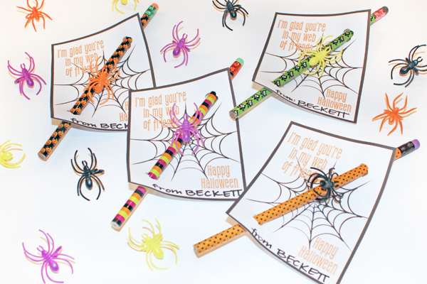 Non-Candy Halloween Treats - Halloween Pencils