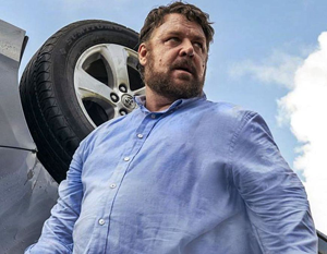 Russell Crowe con sobrepeso