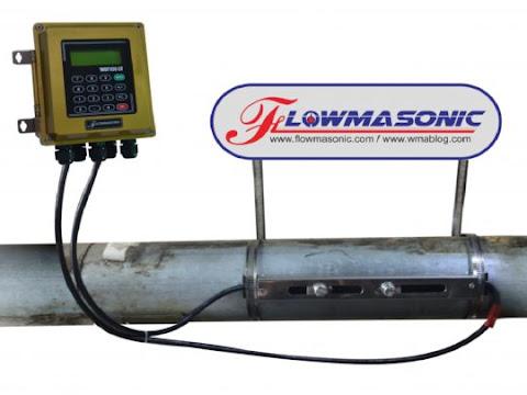 Water Flow Meter Ultrasonic Flowmasonic Clamp on WUF-100CF