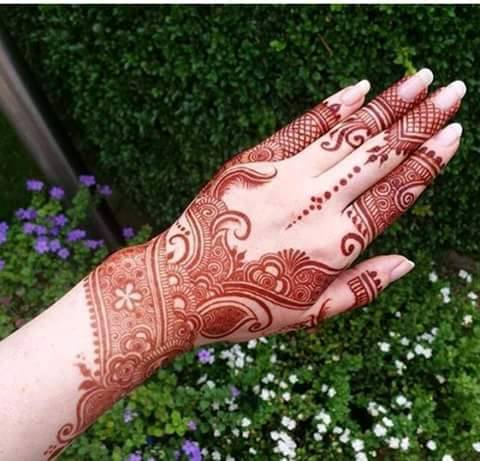 Mehandi Design for Hands 19