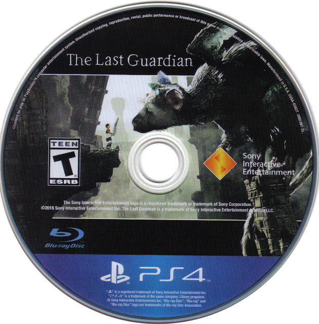 Label The Last Guardian PS4