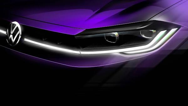 Novo Volkswagen Polo 2022: facelift será revelado dia 22