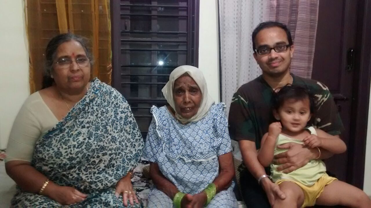 4 Generations in 1 Frame | My Alter-ego.......