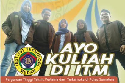 Biaya Kuliah T.A 2019/2020 ITM - Institut Teknologi Medan