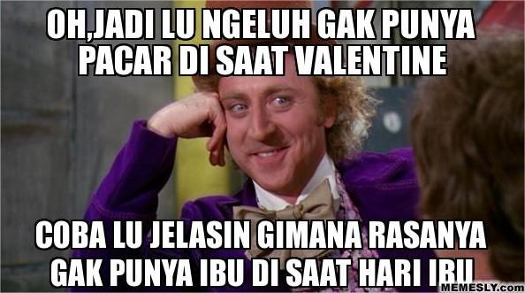 Meme Tentang Hari Valentine Bikin Ngakak, Diambil dari berbagai sumber
